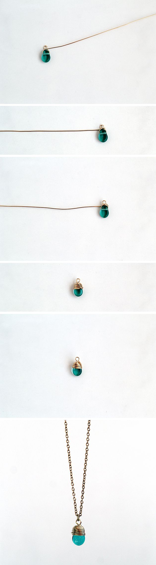 How To Wrap a Bead Fall For DIY