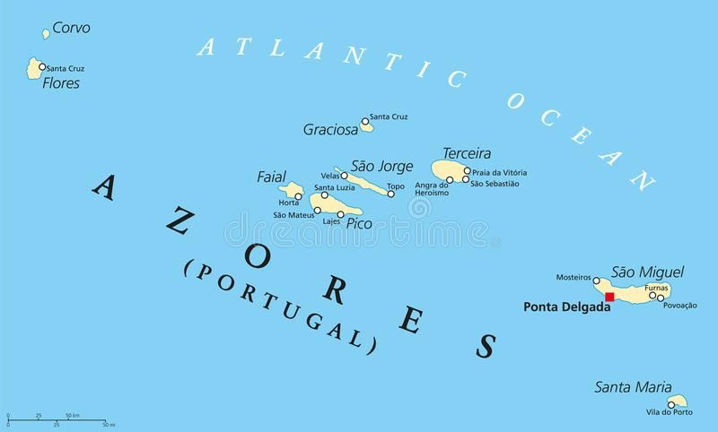 Image result for printable map of the azores | things to know ...