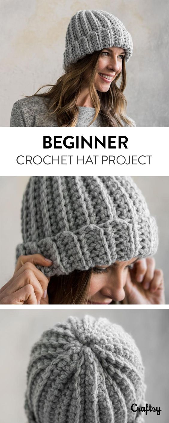 Explore beginner hat projects, yarns, videos and more!   Created by ...