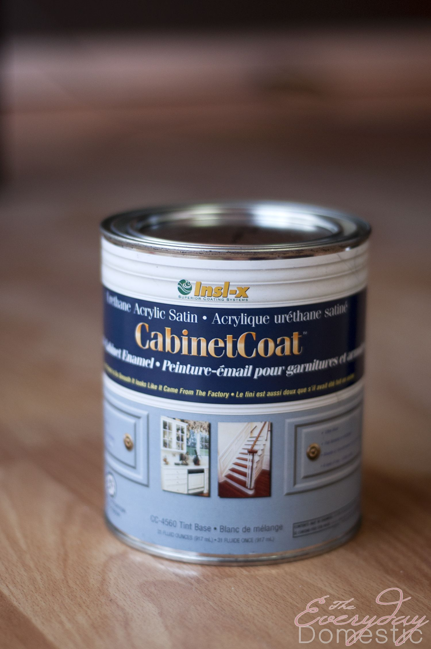 Exceptionnel When I Was Painting My Kitchen Cabinets I Used Insl X Cabinet Coat. I  Wasnu0027t Sure How It Would Work On My 45 Year Old, Oak, Kitchen Cupboards But  This DIY ...
