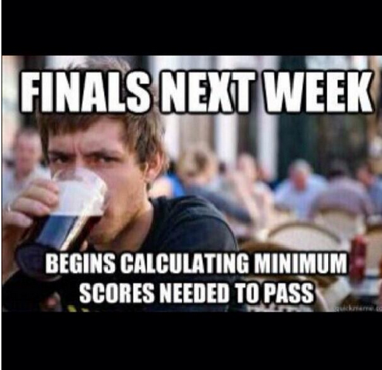 Txst Dont Forget About Those Few Extra Credit And Attendance Points Alexis College Senior Finals Memes College Humor