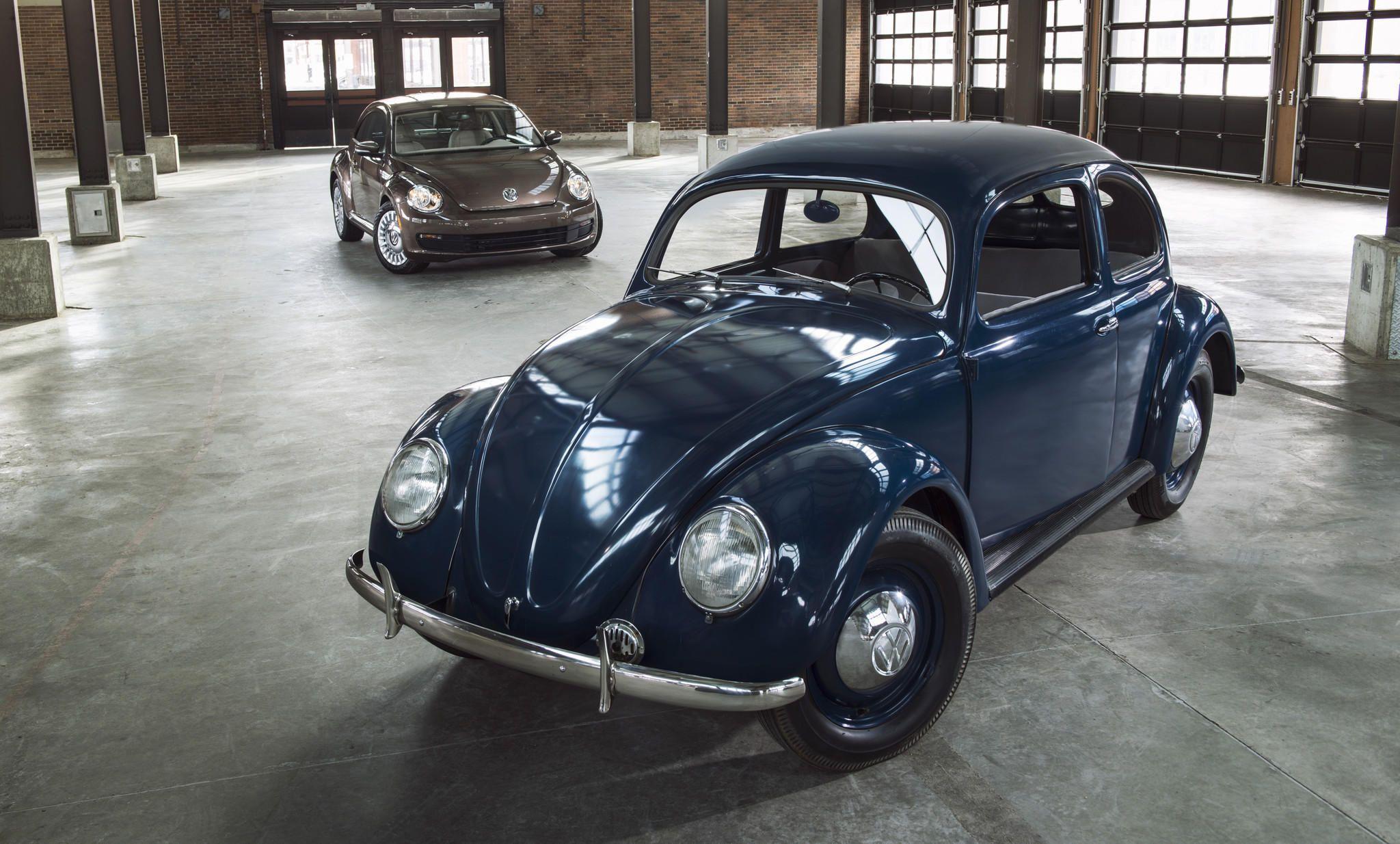 First Volkswagen Beetle arrived in a U.S. showroom 65 years ago ...