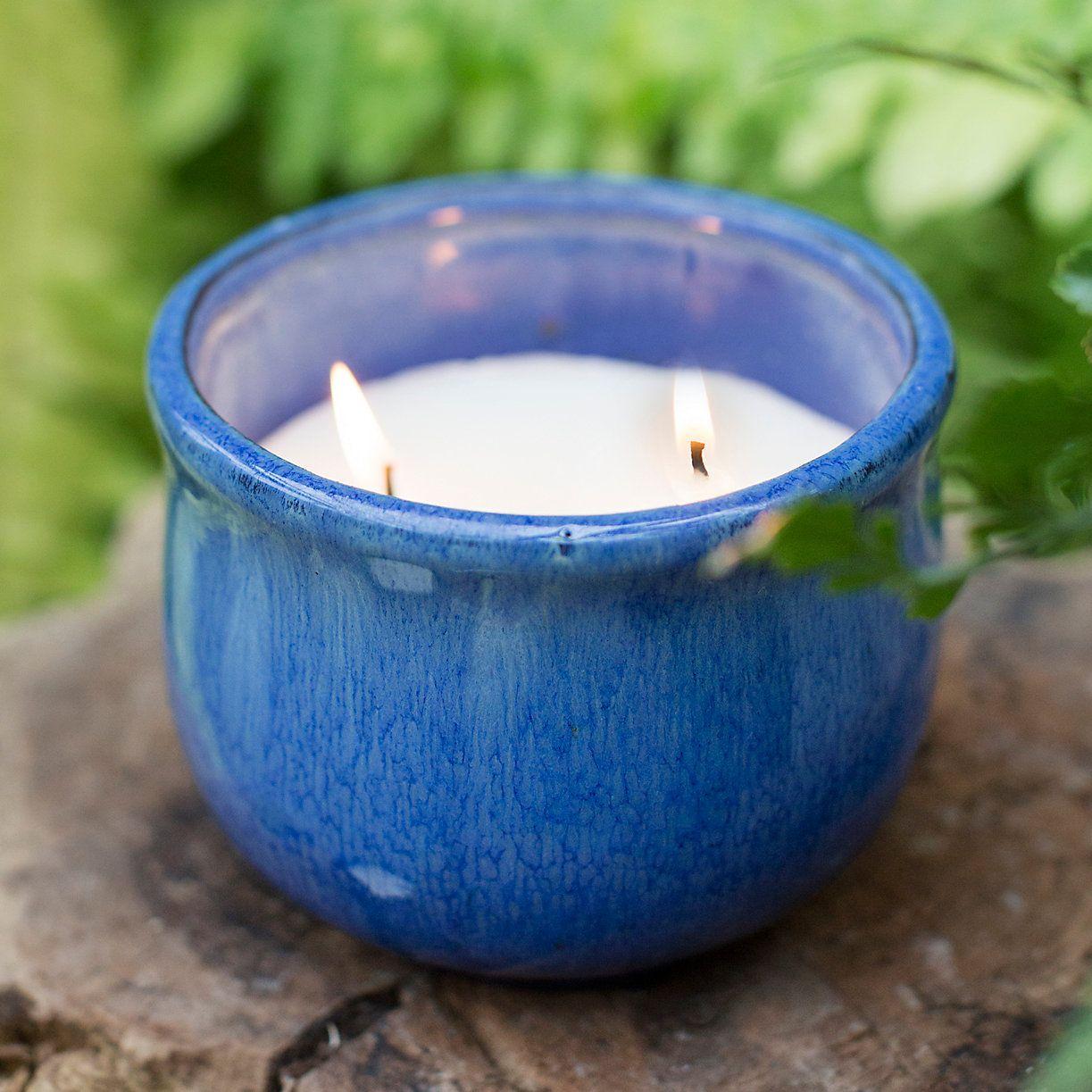 Citronella Candle In Ceramic Pot Terrain Outdoor Candles Citronella Candles Ceramic Pot
