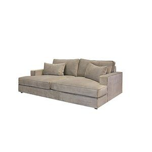 Dores Chaise Lounge In 2020 Deep Sofa Deep Couch Comfortable Couch