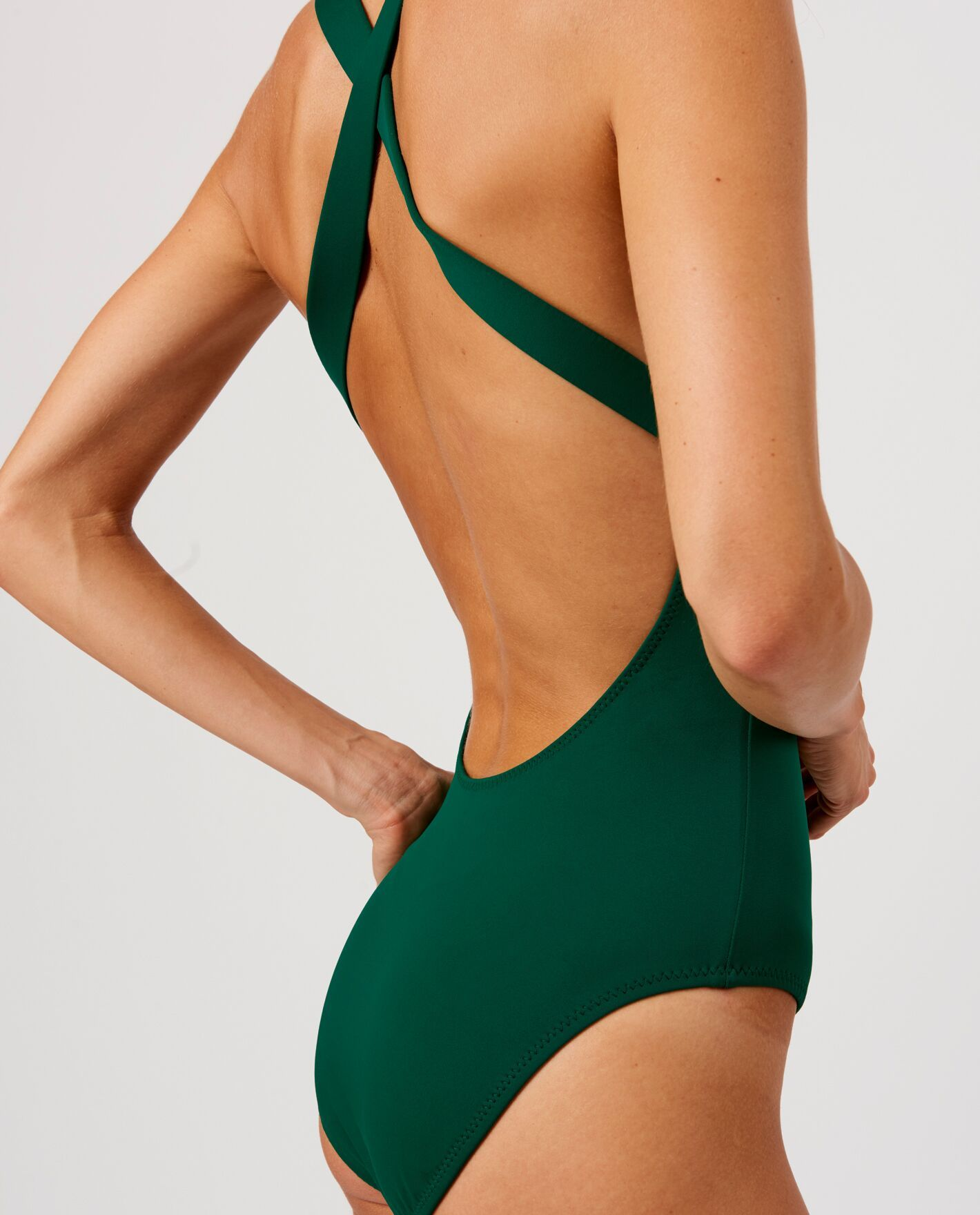 4e4c6a18c Cross-back one-piece swimsuit from Andie swim.