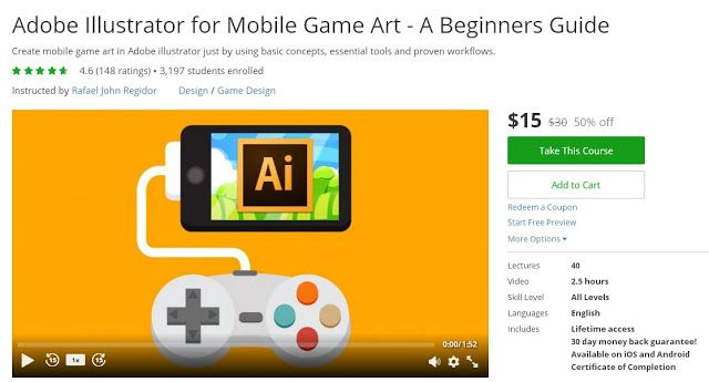 Coupon Udemy - Adobe Illustrator for Mobile Game Art - A Beginners ...