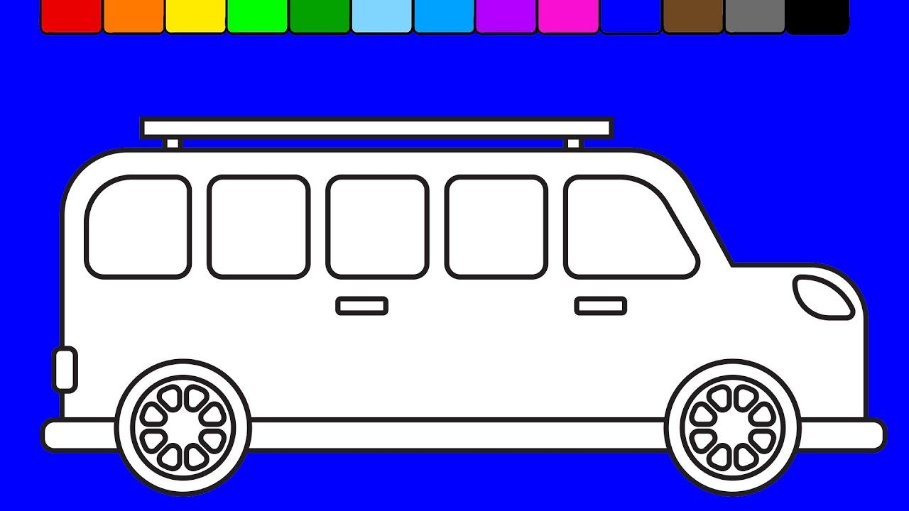 Coloring pages videos