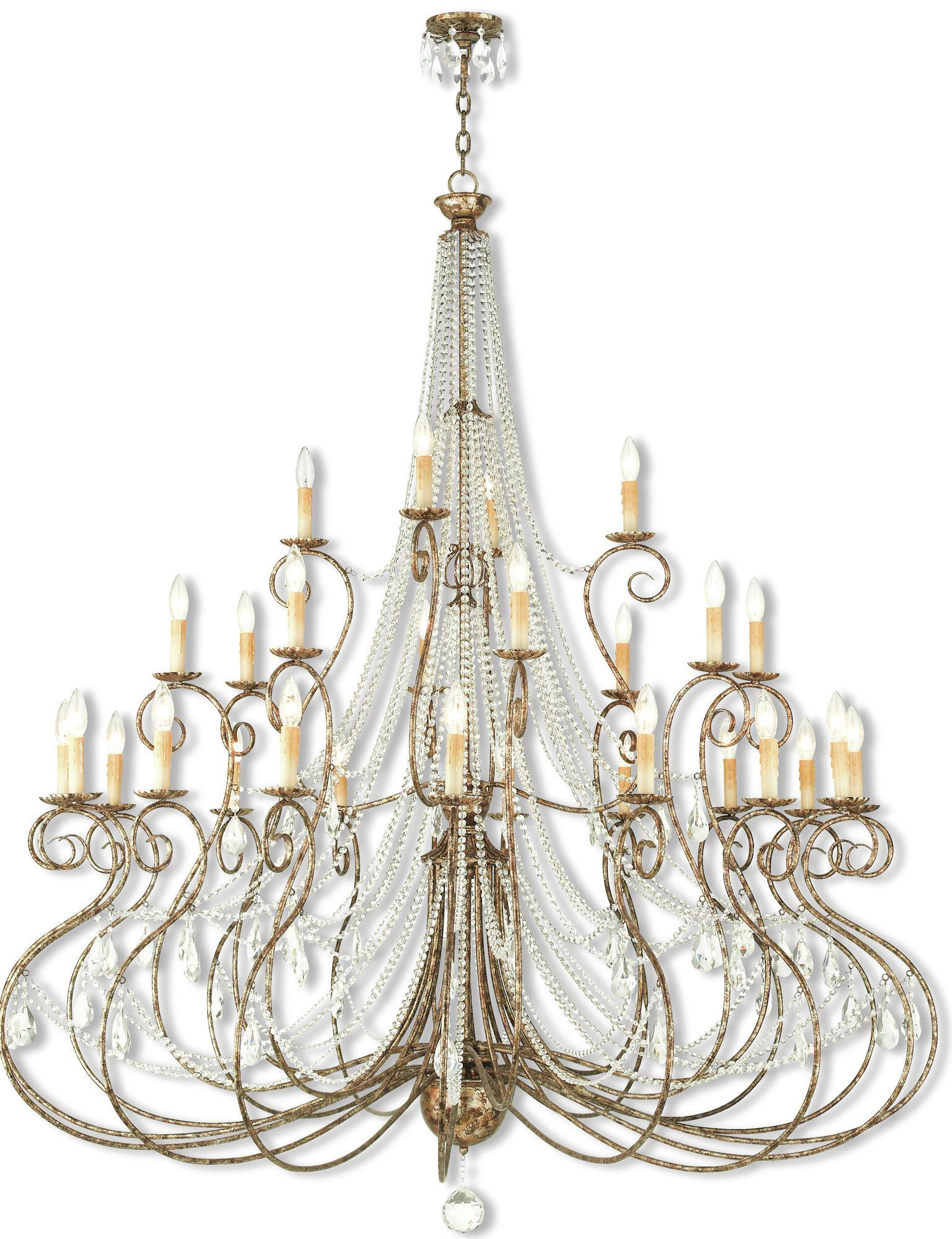 Charley 28 Light Foyer Chandelier