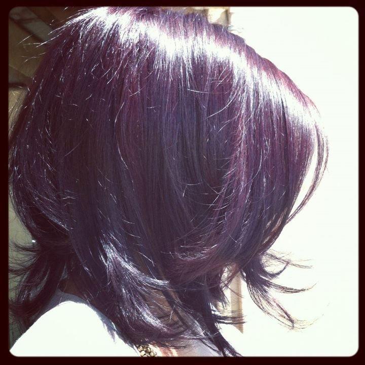 Deep Mahogany Hair Color Inspire Uptown Salon Pinterest