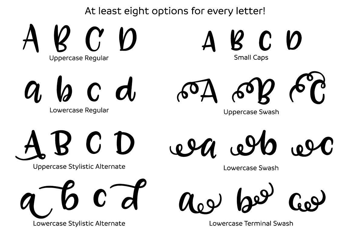 Hand Drawn English Alphabet Font Cute Letters With Decoration Elements Vector Illustration Download A Free Previe In 2020 Cute Letters Letter Vector Fonts Alphabet