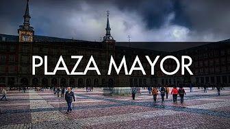 madrid plaza mayor ppt english - YouTube