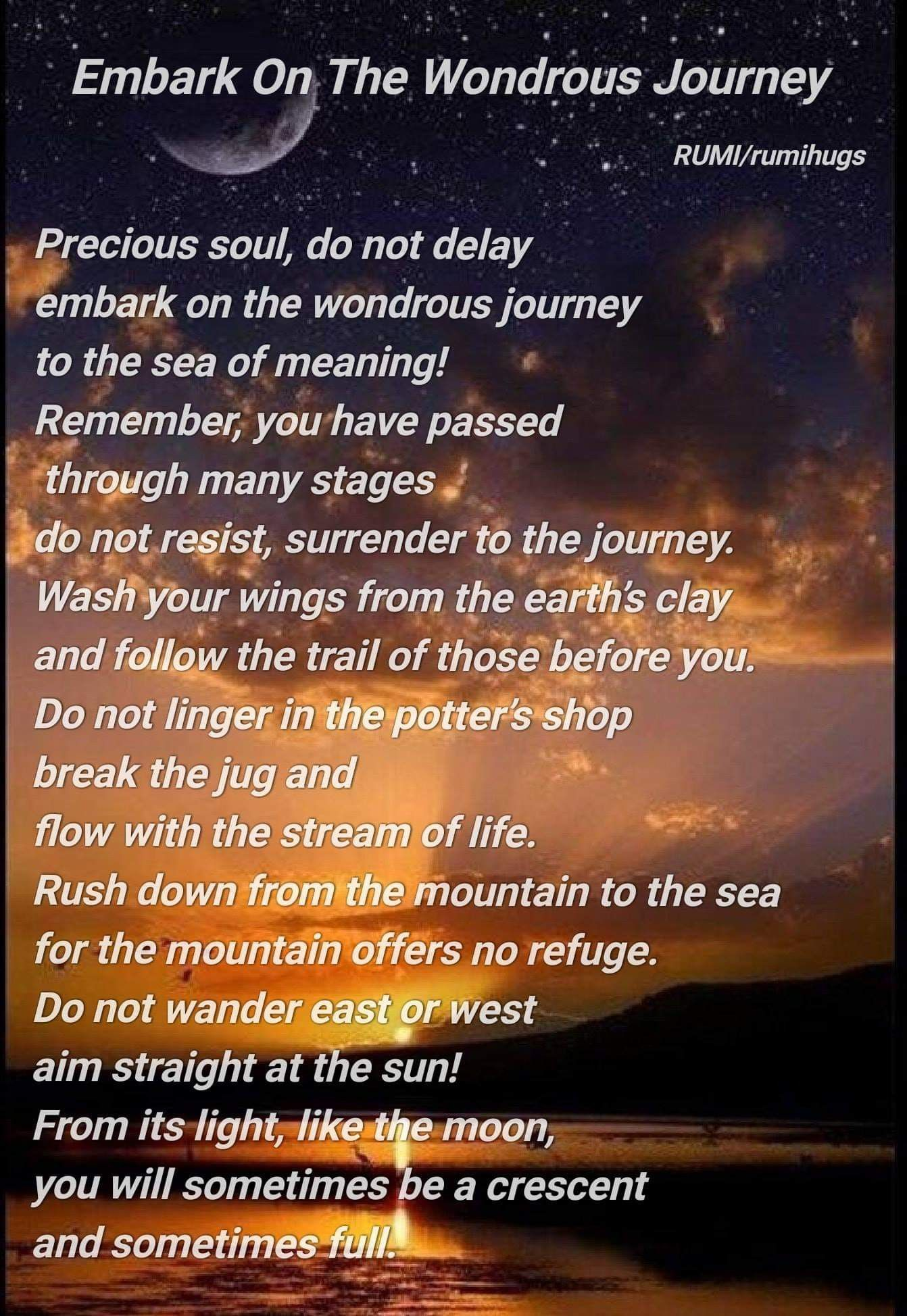 Embark On The Wondrous Journey Precious Soul Do Not Delay Embark
