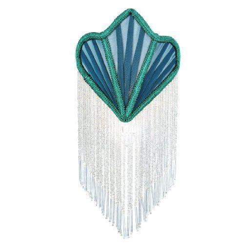 Meyda 14374 Victorian Green Fan Fabric With Fringe Night Light By Findingking Http Www Amazon Com Dp B00alqhjno Ref Cm Sw R Pi Dp 9 Meyda Night Light Fabric