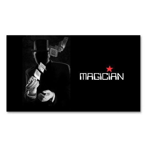 Magic Magician Card Poker Trick Entertainment Zazzle Com The Magicians Cards Entertaining