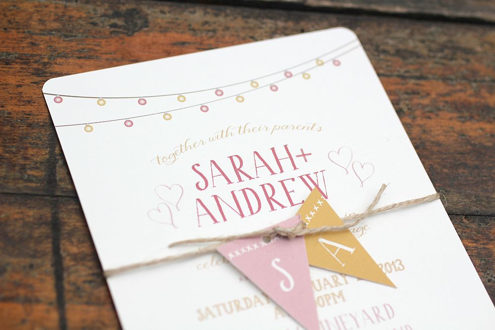 Wedding Stationery Suites from Ruby & Willow