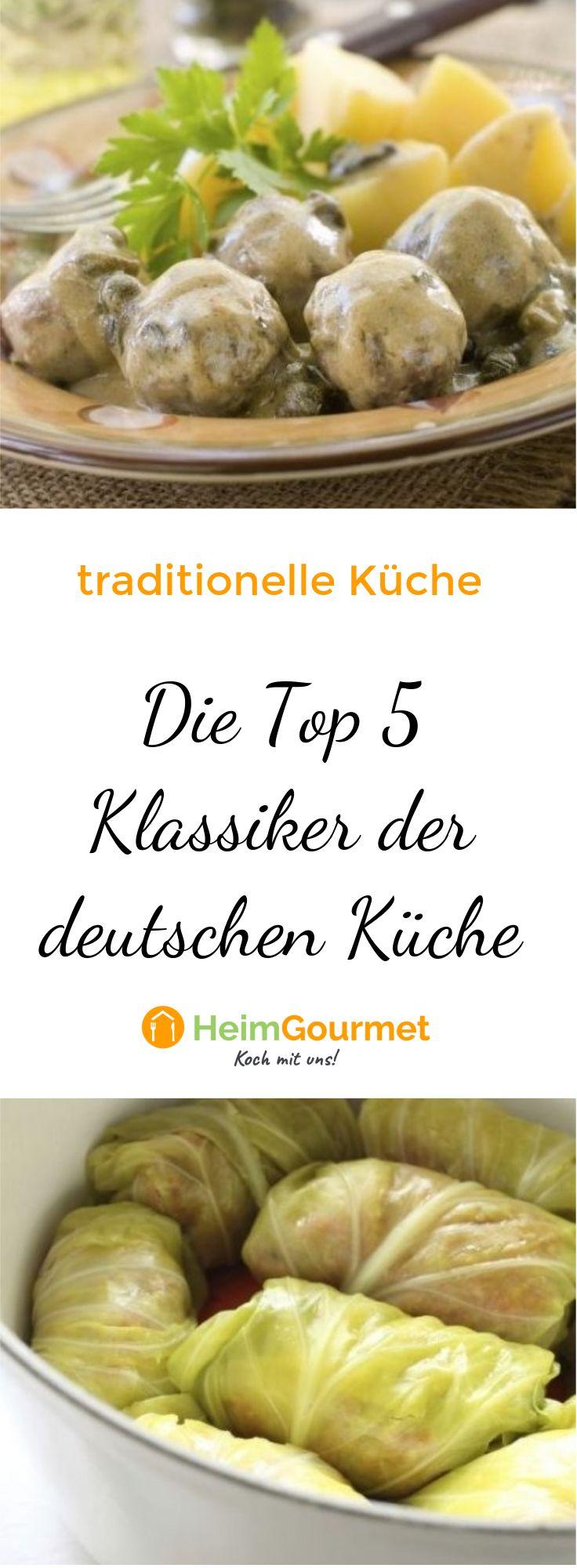 Die Top 5 Klassiker der deutschen Küche! in 2019 | Leckere ...