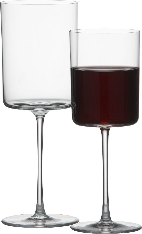 edge wine glasses  crates wine and barrels - edge wine glasses