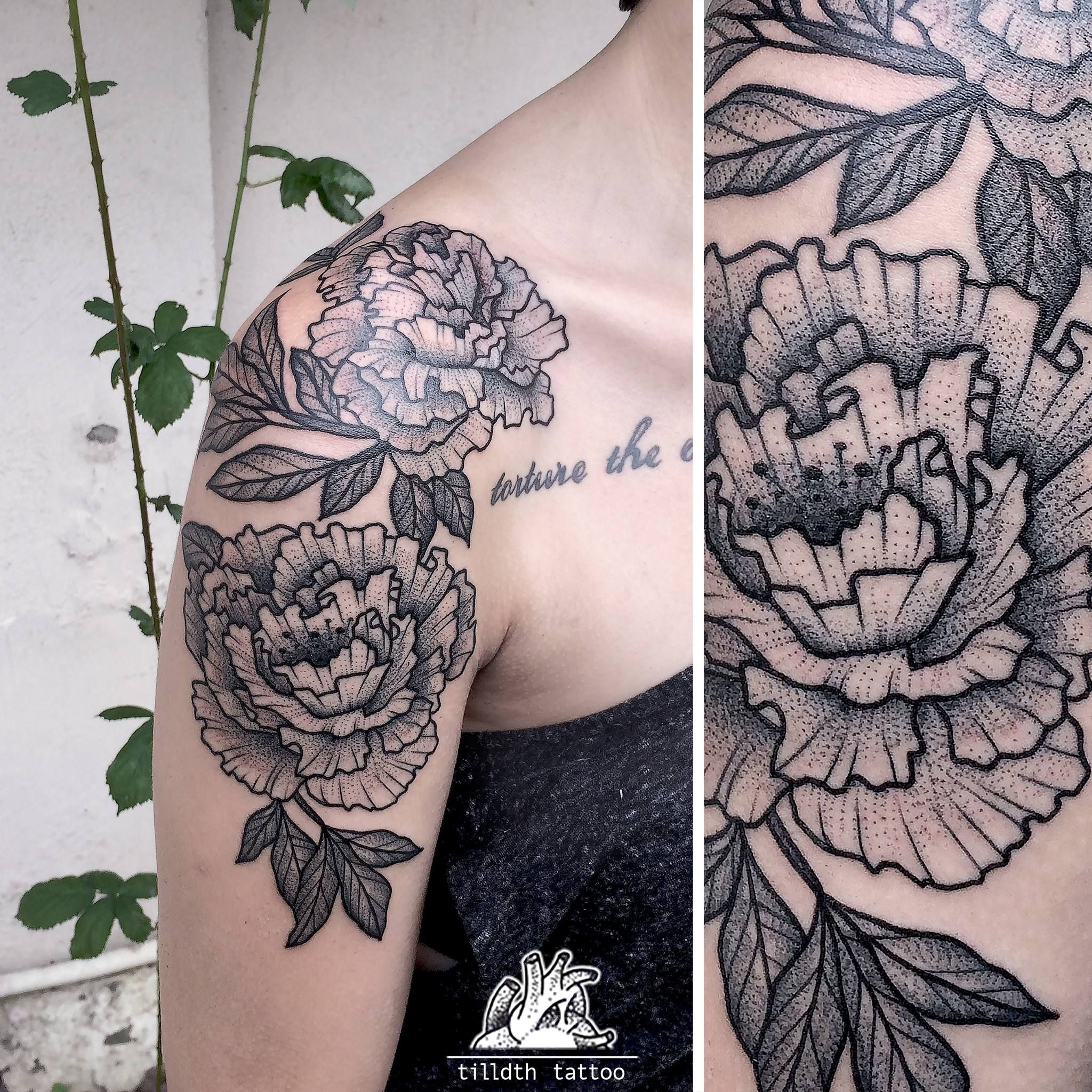 Beautiful Botanical Tattoos By Salem Witch Descendant: Done By Tilldth (With Images)