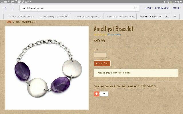 Bracelet at Watch4jewelry.com
