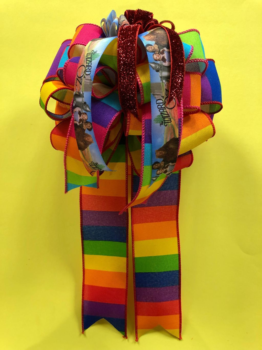 Over The Rainbow Wizard Of Oz T Bow For T Box T