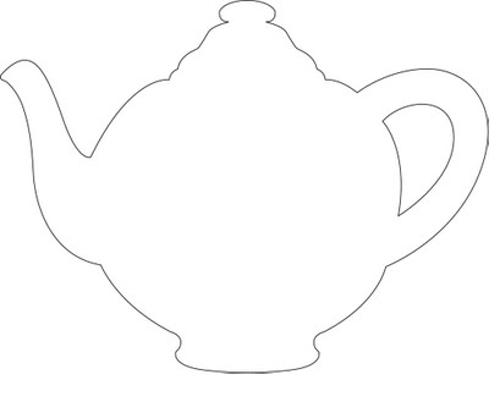 Teapot Stencil - Google Search