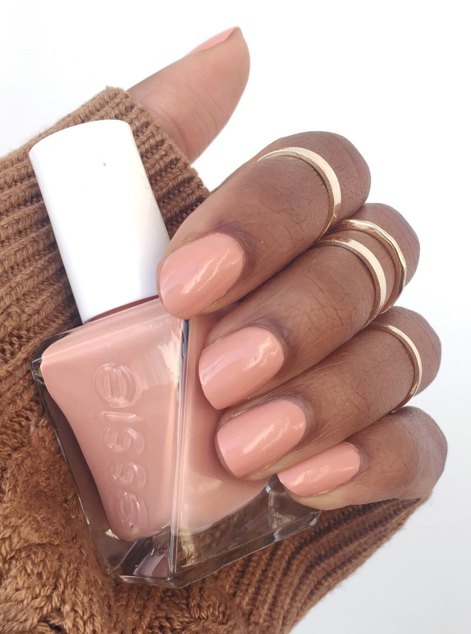 Essie Sew Me Swatch -- It\'s the perfect nude nail polish that ...