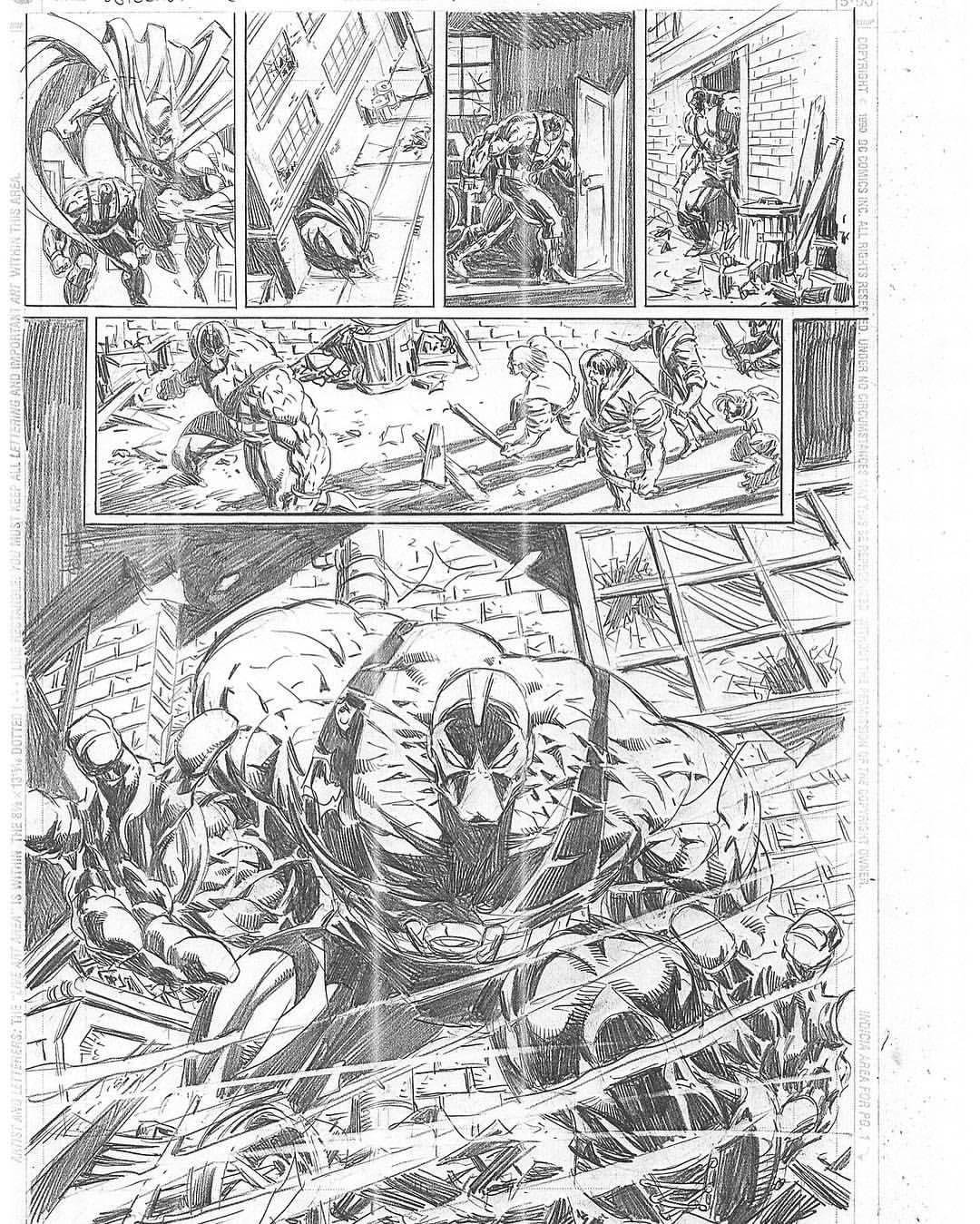 Detective Comics #736. Pencils. 1999
