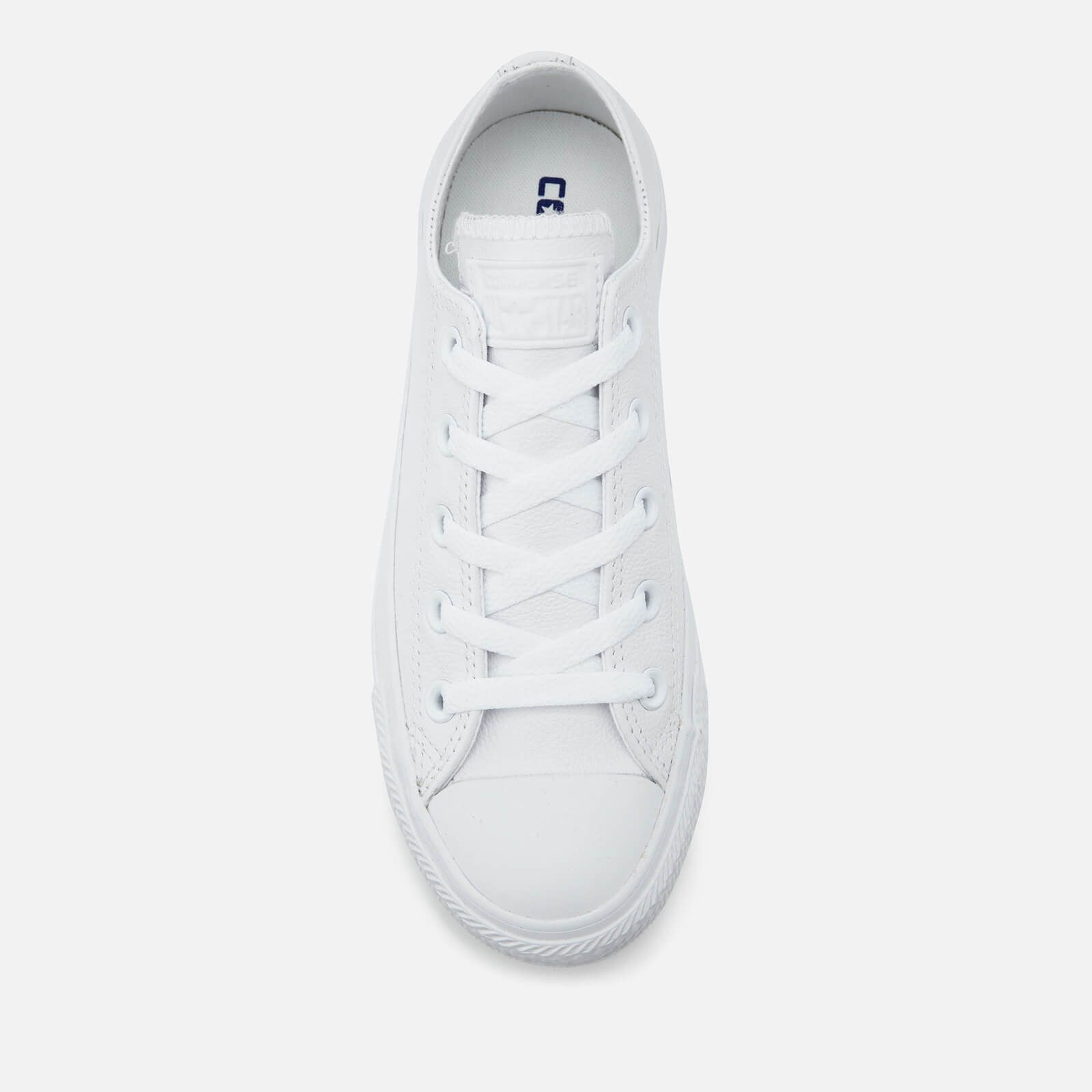 Converse Chuck Taylor All Star Ox Leather Trainers White