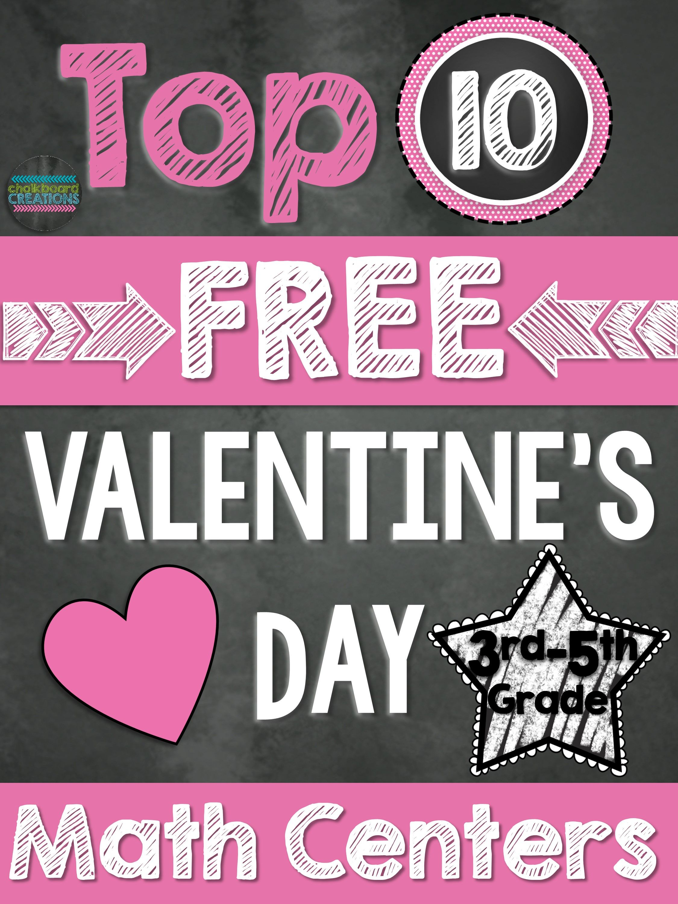 Top 10 Free Math Centers For Valentine S Day 3rd 5th Grade