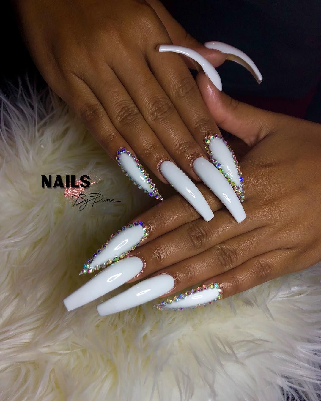 """757 Nails by Dime💅🏽 on Instagram: """"my sis @officialprettysavage_ always comes thru to show love🥴💕 • • • • •  #clawsup  #757nailtech #nailsofinstagram #odunails #nailsbydime…"""""""