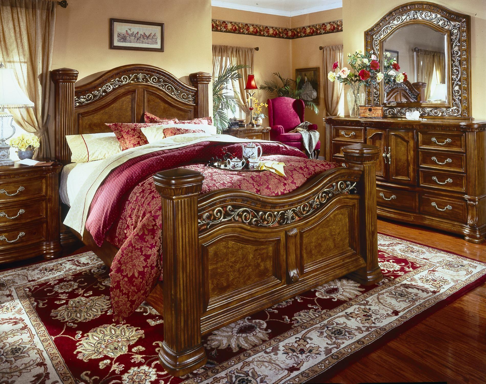 Cordoba Queen Mansion Bed By Flexsteel Wynwood Collection At Ahfa King Bedroom Furniture Bedroom Interior King Bedroom Sets