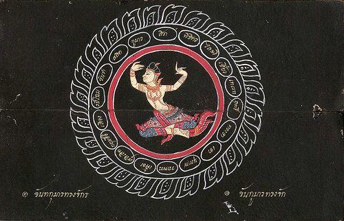 013-Libro de poesía Tailandesa- Segunda Mitad siglo XIX- Biblioteca Estatal de Baviera