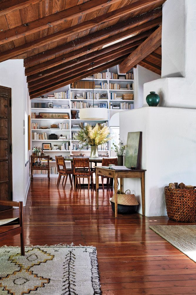Cool Modern Simple Wooden House Designs To Be Inspired By: Inside Director Hallie Meyers-Shyer's Benedict Canyon Home