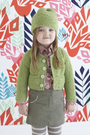 Isabel Cardigan And Hat http://www.lionbrand.com/patterns/80720AD ...