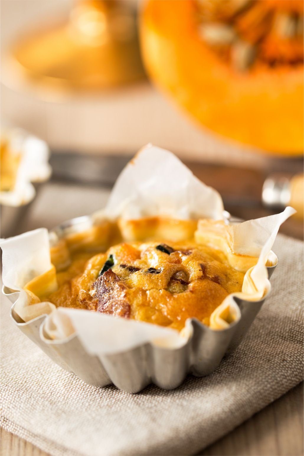 Savory Pumpkin And Goat Cheese Tart