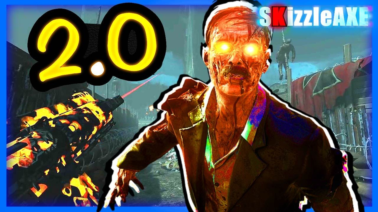 BLACK OPS 3 - ORIGINS 2.0 REMAKE Custom Zombie Map - Black ...