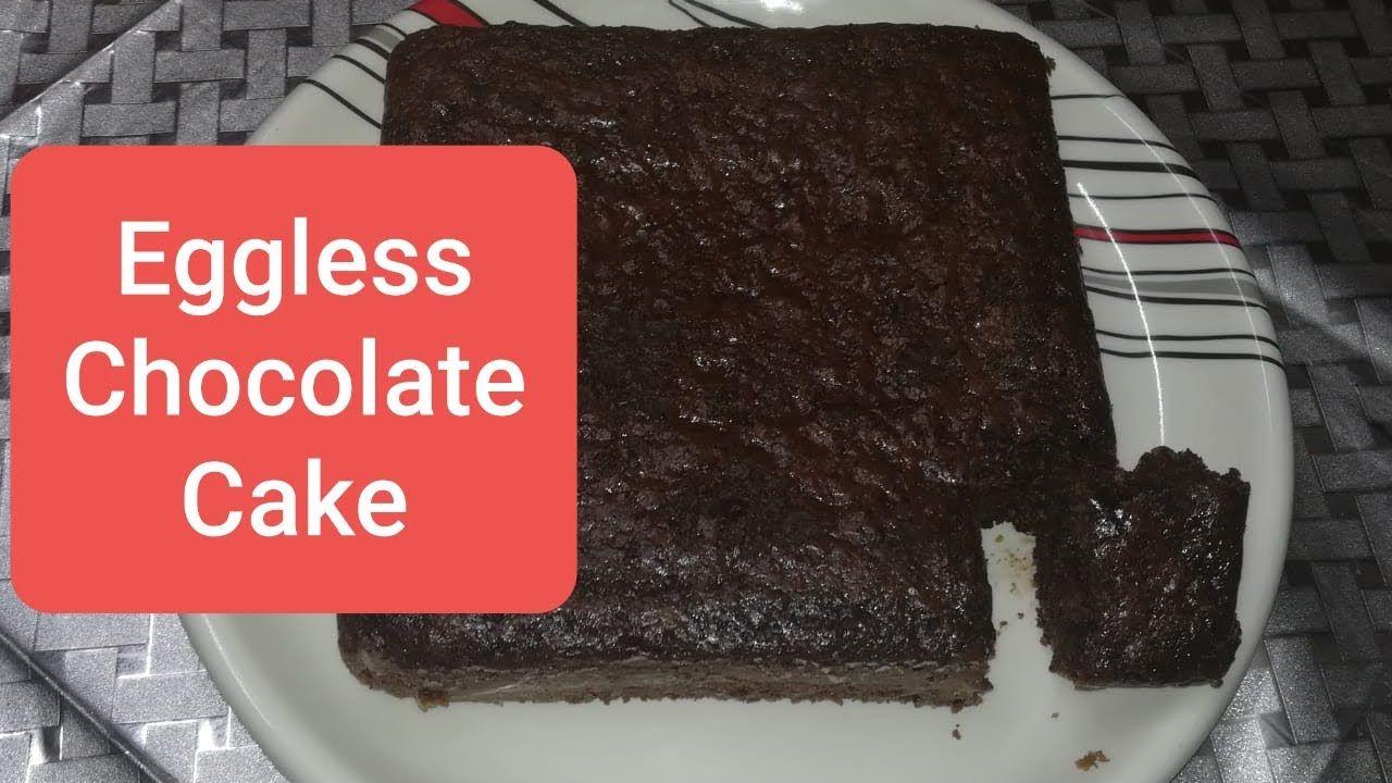 Eggless Chocolate Cake Simple And Basic Never Fail Eggless Chocolate C In 2020 Eggless Chocolate Cake Chocolate Cake Recipe Cake Recipes