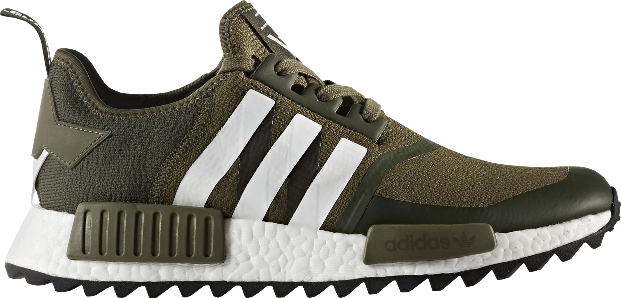 2ed66cfd6a636 Check out the adidas NMD R1 Trail White Mountaineering Trace Olive  available on StockX
