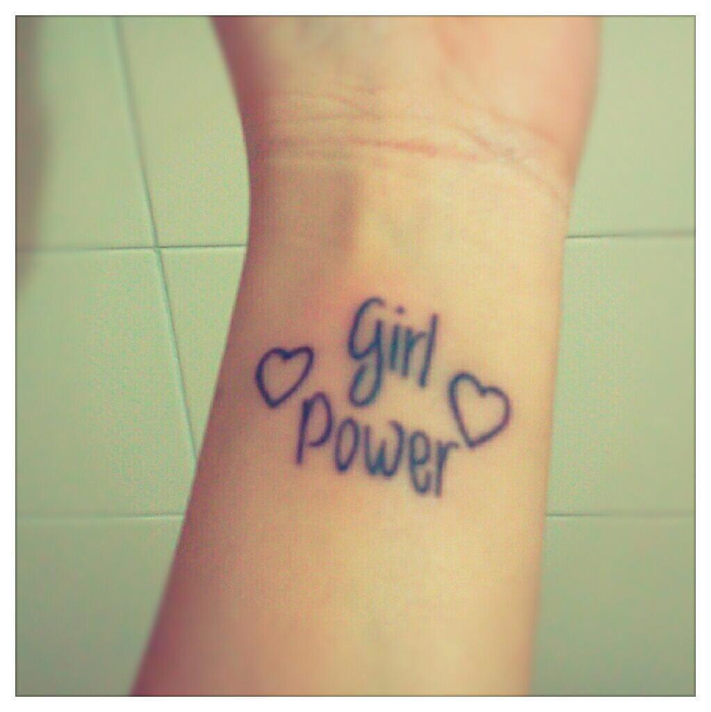 Tattoo Woman Power: Girl Power Tattoo