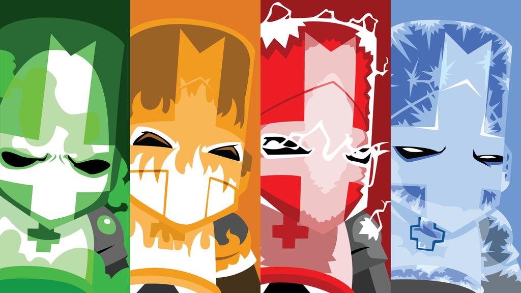 Castle Crashers Wallpaper By Dazztok On Deviantart Arte De Videojuegos Dibujos Juegos Buenos
