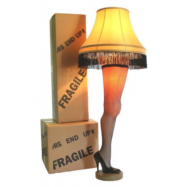 A Christmas Story 50 inch Full Size Leg Lamp in Cardboard Box Misc