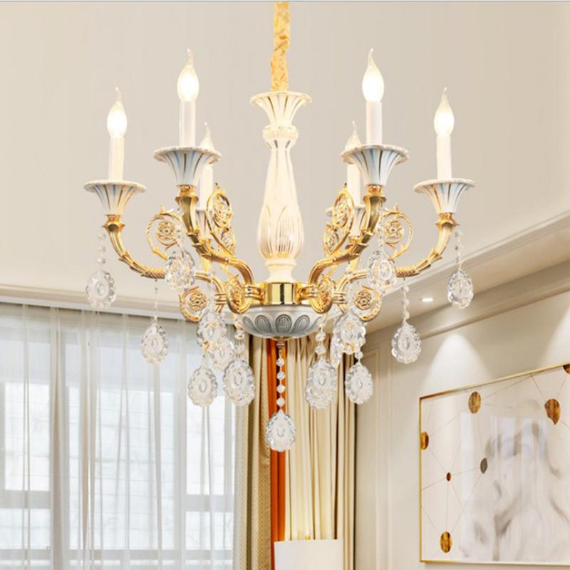 European Crystal Chandelier Unique Design Pendant Light Living Room Study Hq 9127 With Images Pendant Light Design Ceiling Lights Chandelier