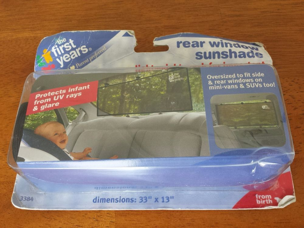 Car oversized rear window sunshade baby car seat sun shade