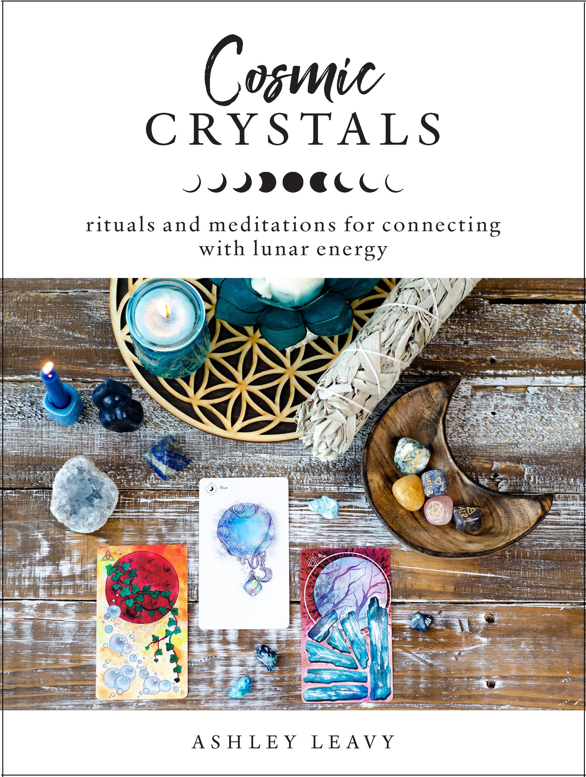 Learn crystal meditations and rituals for each moon phase