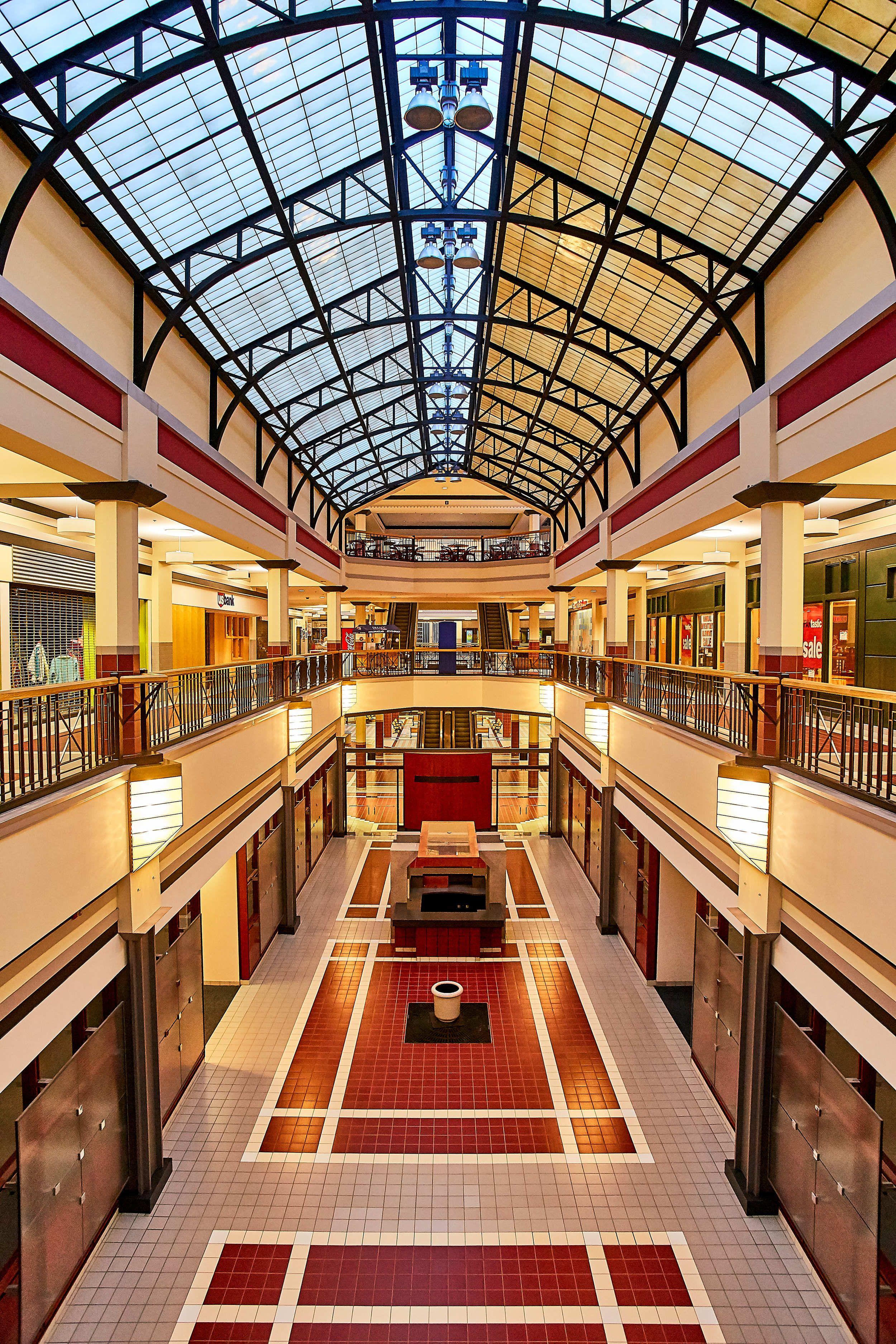 Kaleidoscope at The Hub downtown Des Moines skywalk — Jason Sturges