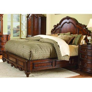 Woodbridge Home Designs 1390 Series Panel Bed Home Decor Camas