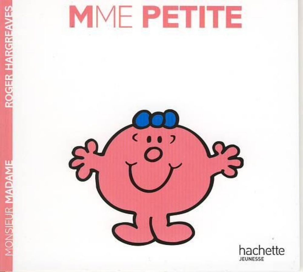 Livre Monsieur Madame Madame Petite Roger Hargreaves