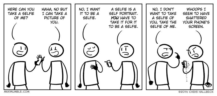 #810 – Selfie