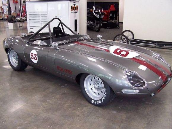 Test Miles 1967 Jaguar E Type Vintage Racer