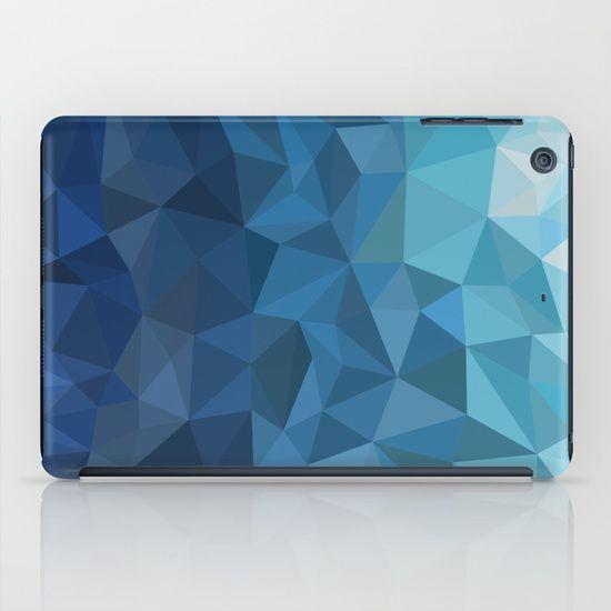 #ipad #ipadmini #ipadcase #design #blue #polygon #geometric #case #ipadminicase  you can buy this vector >> http://www.shutterstock.com/pic.mhtml?id=283537778
